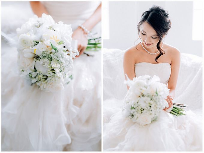 A White Wedding Styled shoot by TangYong Hair & Makeup - 007