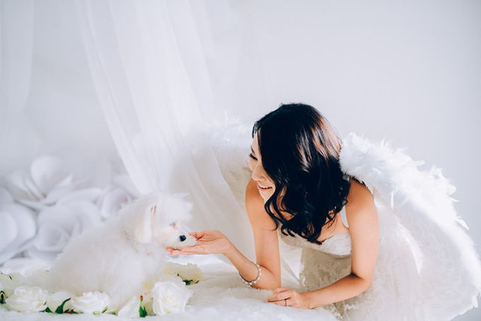 A White Wedding Styled shoot by TangYong Hair & Makeup - 005