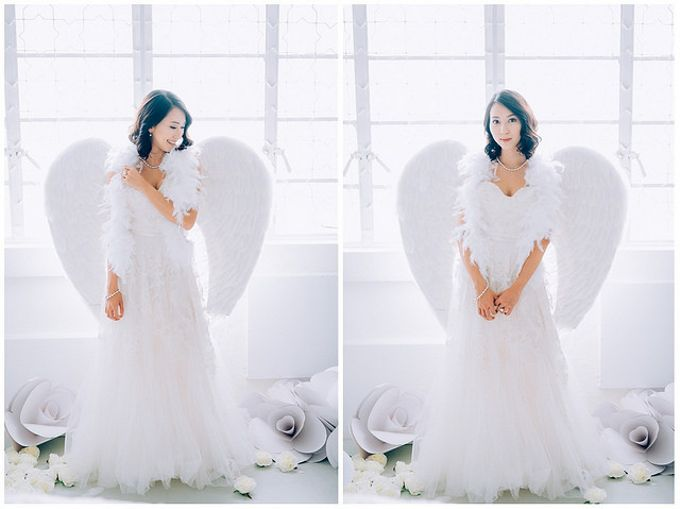 A White Wedding Styled shoot by TangYong Hair & Makeup - 004