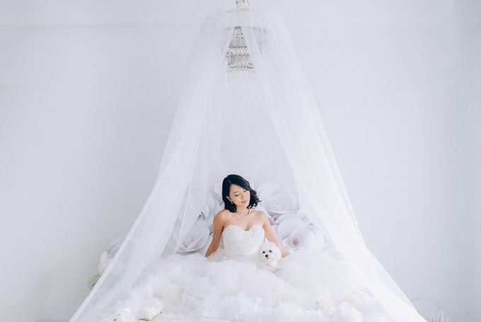 A White Wedding Styled shoot by TangYong Hair & Makeup - 003