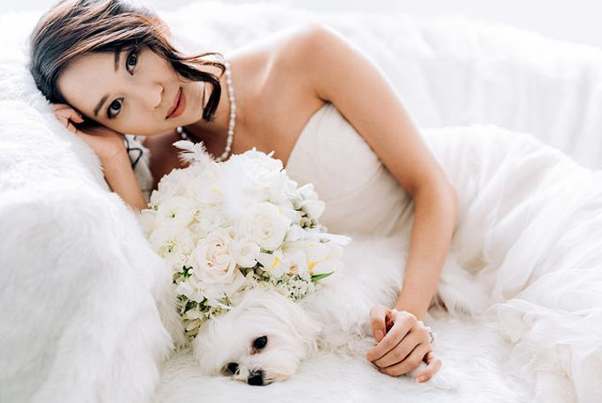 A White Wedding Styled shoot by TangYong Hair & Makeup - 006