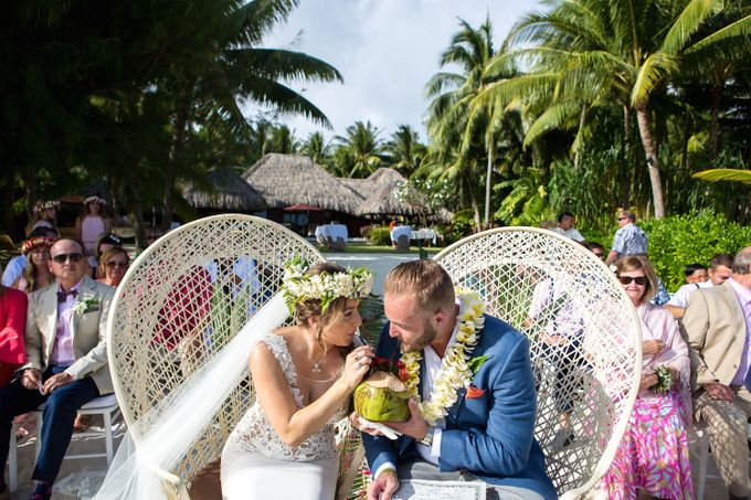 Bora Bora Wedding by JINZA Couture Bridal - 005