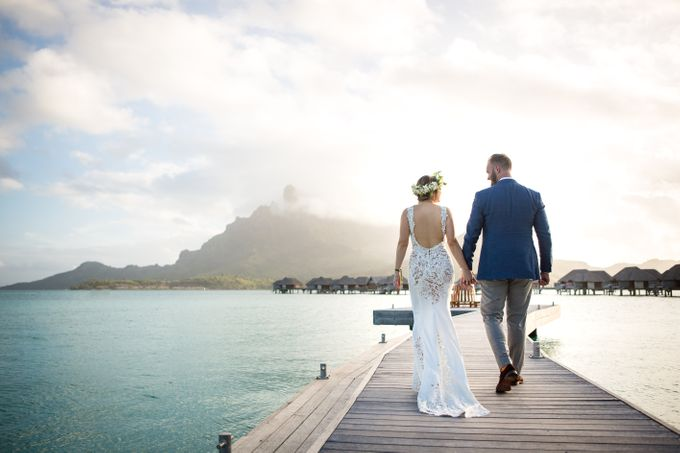 Bora Bora Wedding by JINZA Couture Bridal - 002