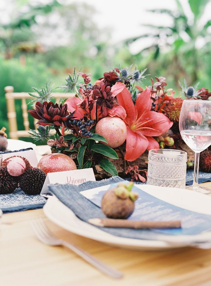 Wedding Style Shoot  - Tropical Fruits Inspiration by Nineteen Design Studio - 005