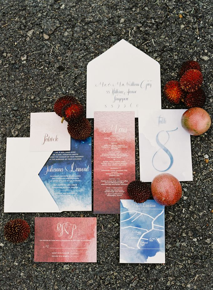 Wedding Style Shoot  - Tropical Fruits Inspiration by Nineteen Design Studio - 007