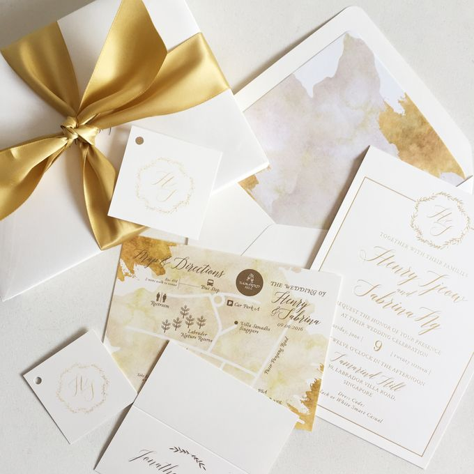 Romancing Gold by Nineteen Design Studio - 001