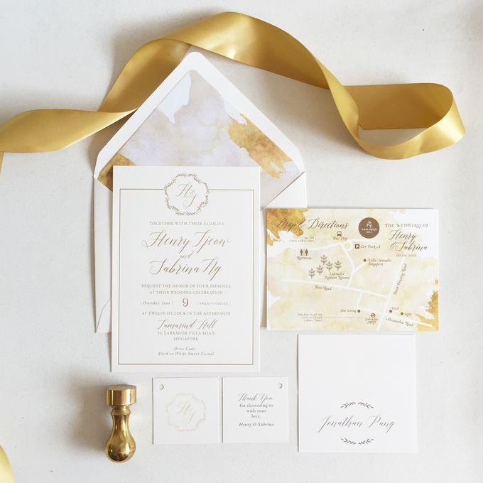 Romancing Gold by Nineteen Design Studio - 003