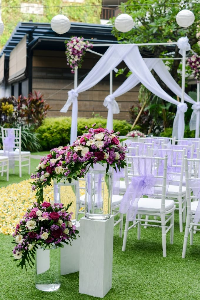 Jelena & Steven Wedding by Courtyard by Marriott Bali Seminyak - 005