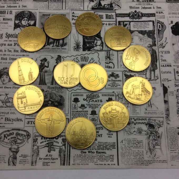 Wedding Coins by Jigs and Clays - 007