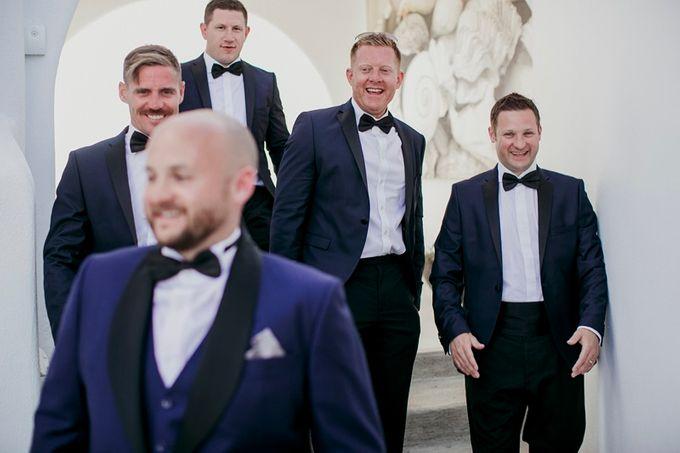 Romantic and luxurious wedding in Santorini by Stella & Moscha Weddings - 012