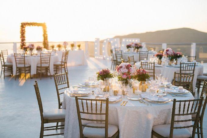 Romantic and luxurious wedding in Santorini by Stella & Moscha Weddings - 029