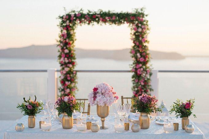 Romantic and luxurious wedding in Santorini by Stella & Moscha Weddings - 031