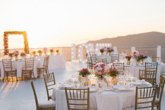 Romantic and luxurious wedding in Santorini by Stella & Moscha Weddings - 033