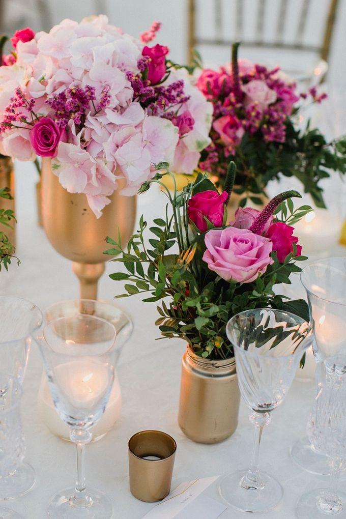 Romantic and luxurious wedding in Santorini by Stella & Moscha Weddings - 035