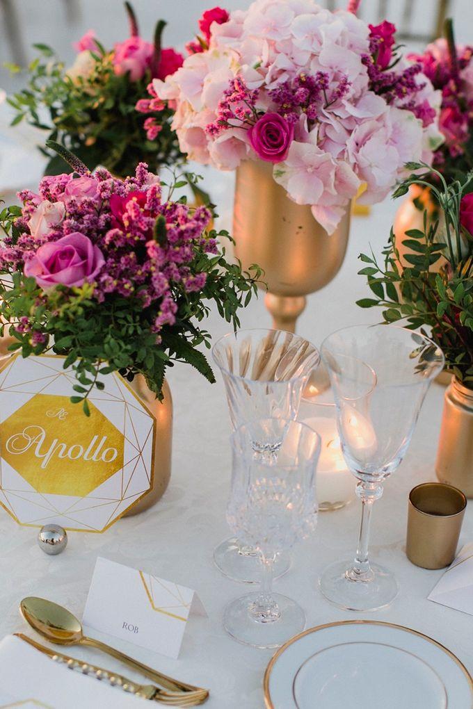 Romantic and luxurious wedding in Santorini by Stella & Moscha Weddings - 036