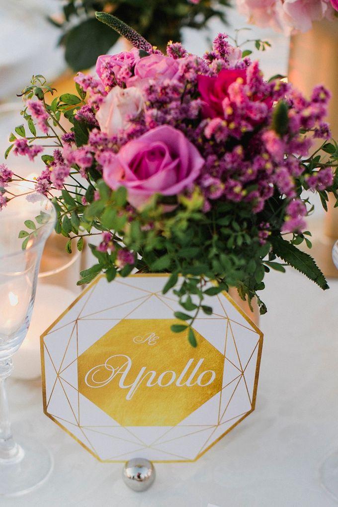 Romantic and luxurious wedding in Santorini by Stella & Moscha Weddings - 037