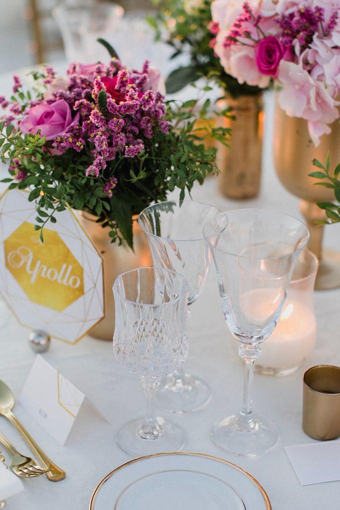 Romantic and luxurious wedding in Santorini by Stella & Moscha Weddings - 040