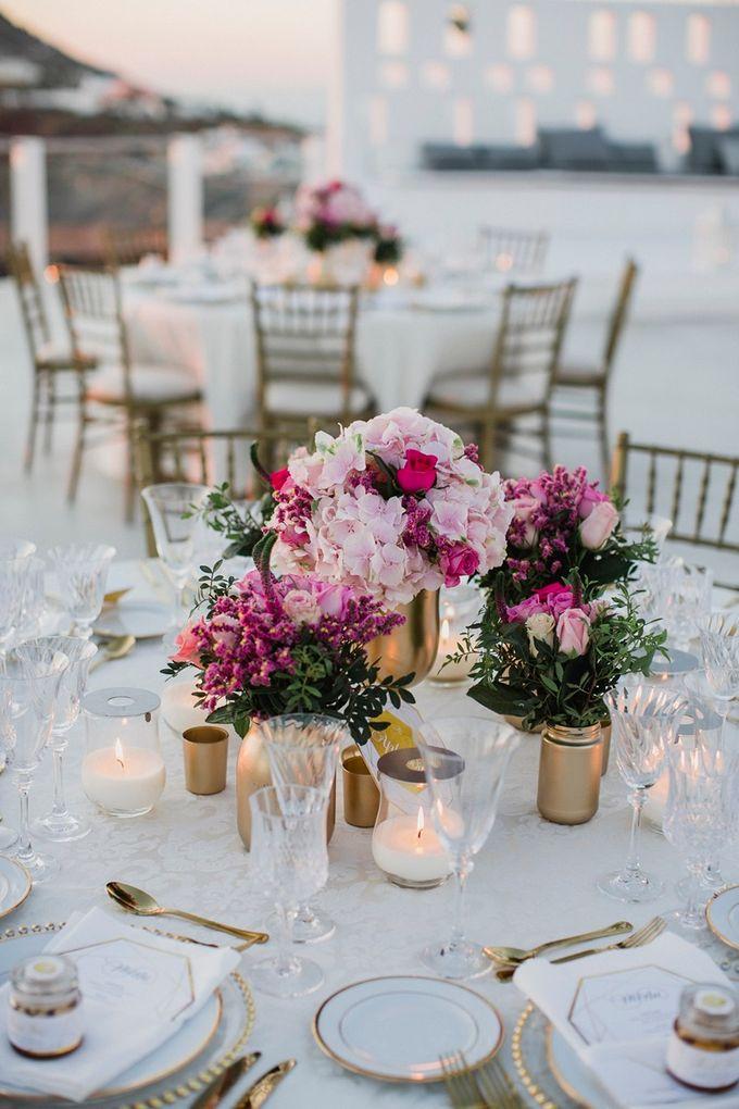 Romantic and luxurious wedding in Santorini by Stella & Moscha Weddings - 041