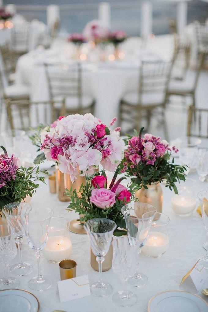 Romantic and luxurious wedding in Santorini by Stella & Moscha Weddings - 044