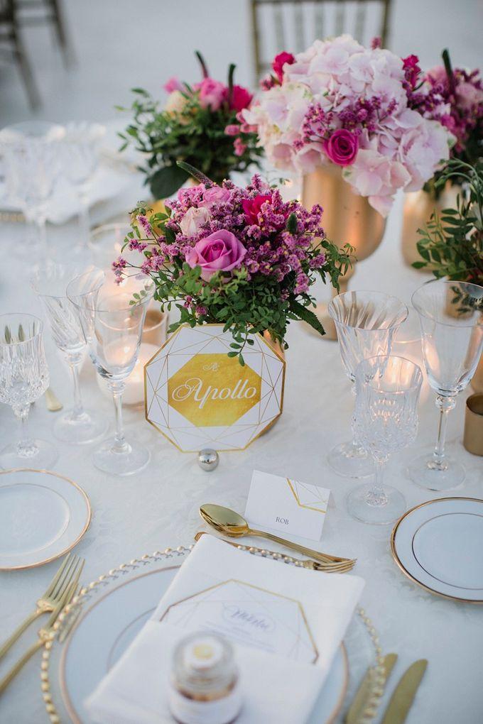 Romantic and luxurious wedding in Santorini by Stella & Moscha Weddings - 043