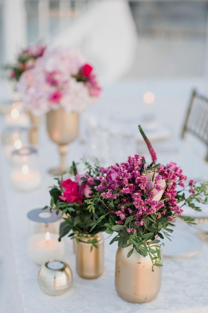 Romantic and luxurious wedding in Santorini by Stella & Moscha Weddings - 009