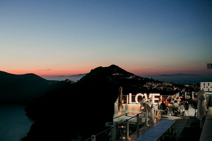 Romantic and luxurious wedding in Santorini by Stella & Moscha Weddings - 045