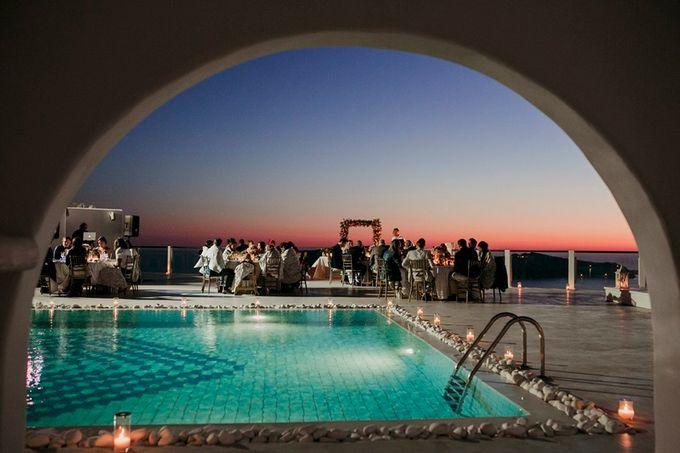 Romantic and luxurious wedding in Santorini by Stella & Moscha Weddings - 050