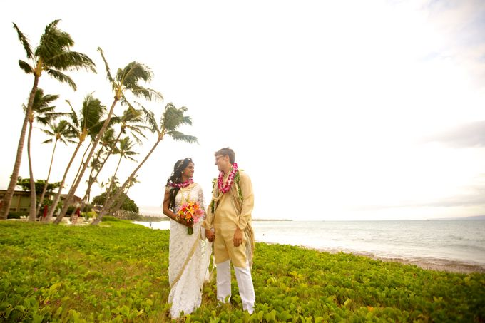 Colorful and Cultural Maui Wedding by Anna KIm Photography - 030