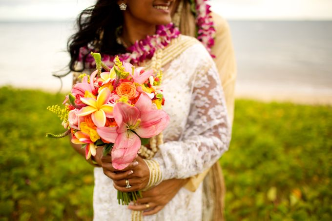 Colorful and Cultural Maui Wedding by Anna KIm Photography - 034