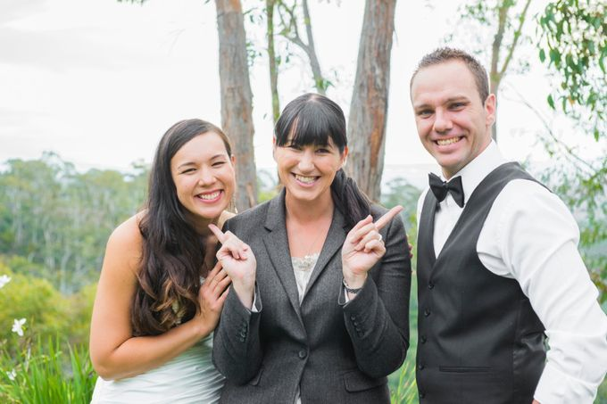 Lighthearted and modern wedding ceremonies by Camille Abbott - Marriage Celebrant - 005