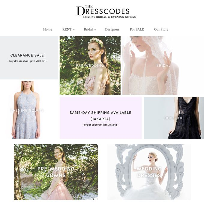 Website by The Dresscodes Bridal - 001