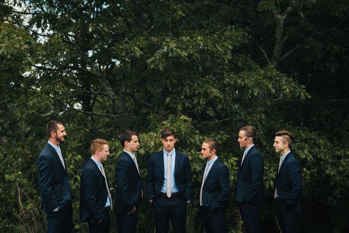 Benj & Madilyn's Rustic Blue Ridge Mountain Wedding by Nicola Harger Photography - 011
