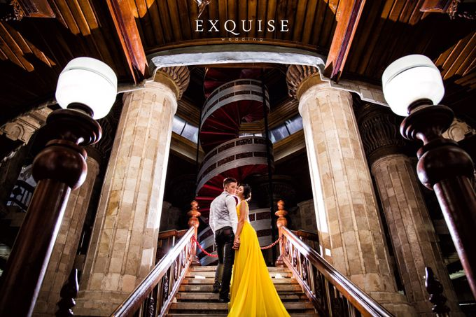 Pre Wedding of Ocha and Hans by Exquise Gowns - 001