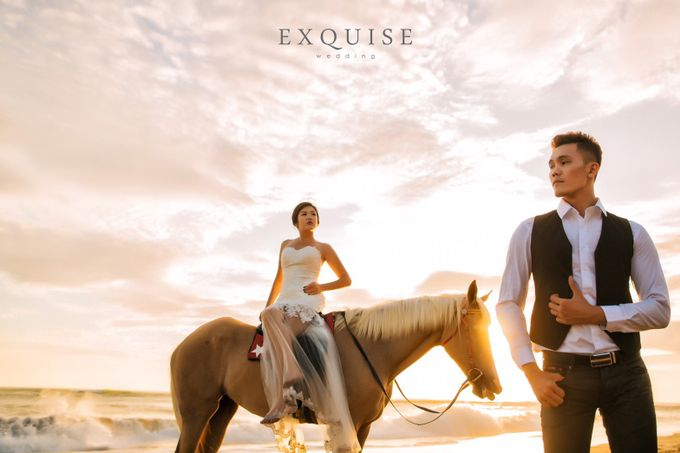 Pre Wedding of Ocha and Hans by Exquise Gowns - 003