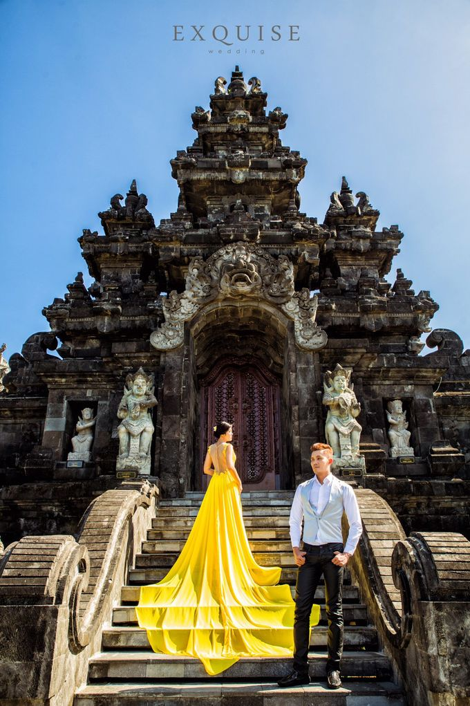 Pre Wedding of Ocha and Hans by Exquise Gowns - 004