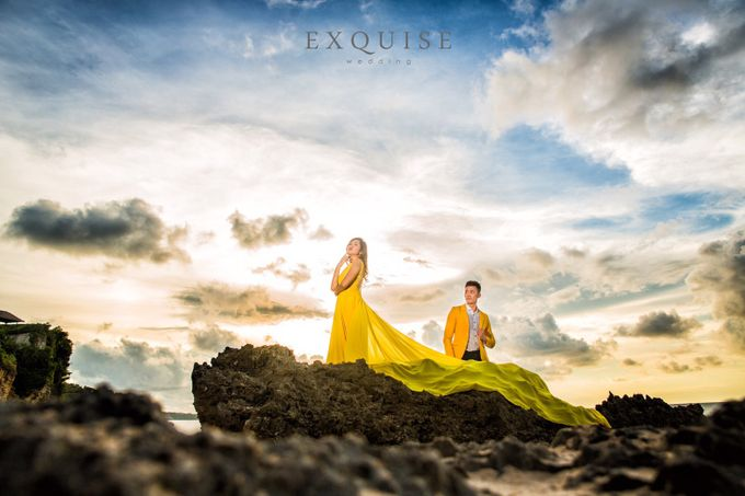 Pre Wedding of Ocha and Hans by Exquise Gowns - 005