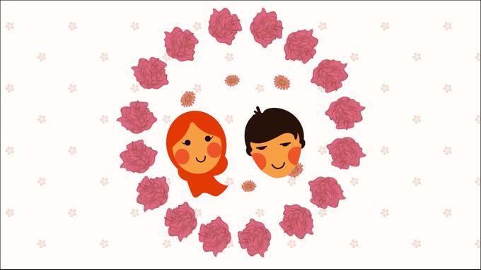 Yossie & Jeffin Animated Wedding Invitation by Trinka Motion Klip - 002