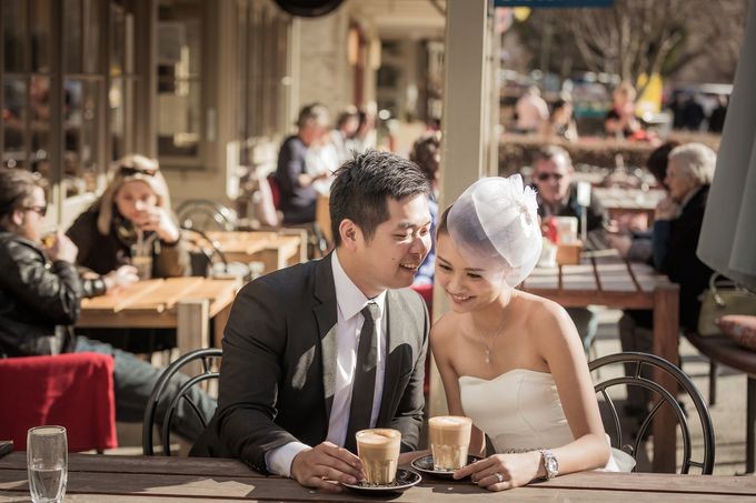 New Zealand pre wedding photography by Odelia Bridal - 013