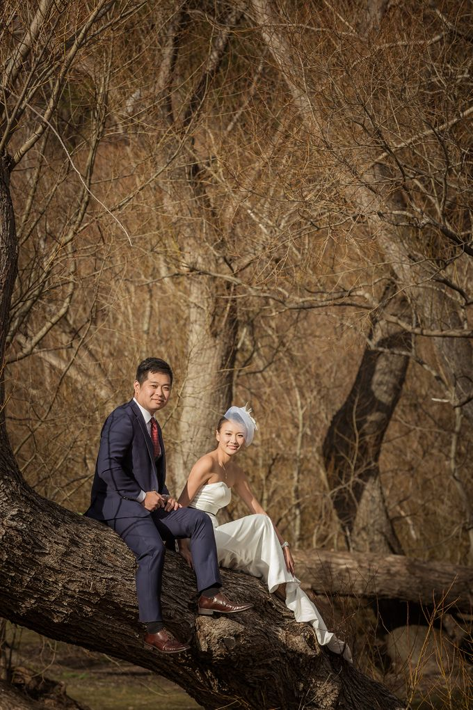 New Zealand pre wedding photography by Odelia Bridal - 015