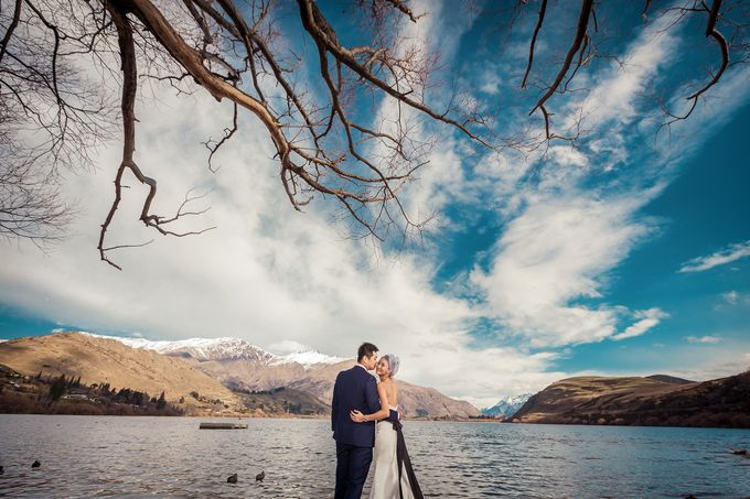 New Zealand pre wedding photography by Odelia Bridal - 017