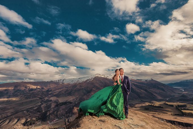 New Zealand pre wedding photography by Odelia Bridal - 018