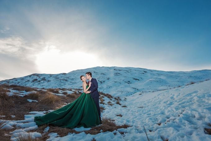 New Zealand pre wedding photography by Odelia Bridal - 020