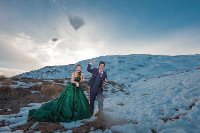 New Zealand pre wedding photography by Odelia Bridal - 021