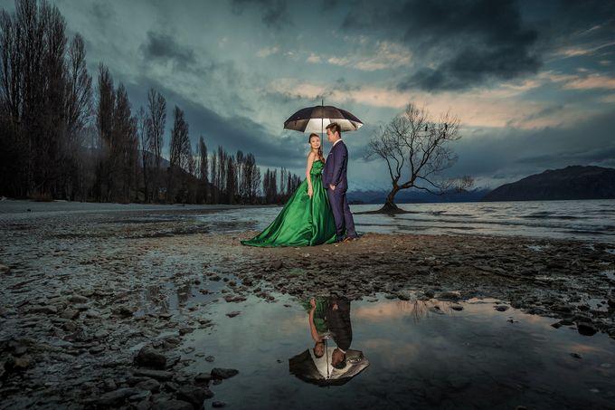 New Zealand pre wedding photography by Odelia Bridal - 023