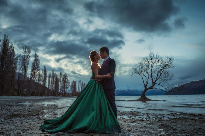 New Zealand pre wedding photography by Odelia Bridal - 024
