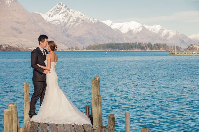 New Zealand pre wedding photography by Odelia Bridal - 003
