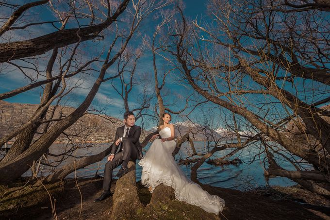 New Zealand pre wedding photography by Odelia Bridal - 005