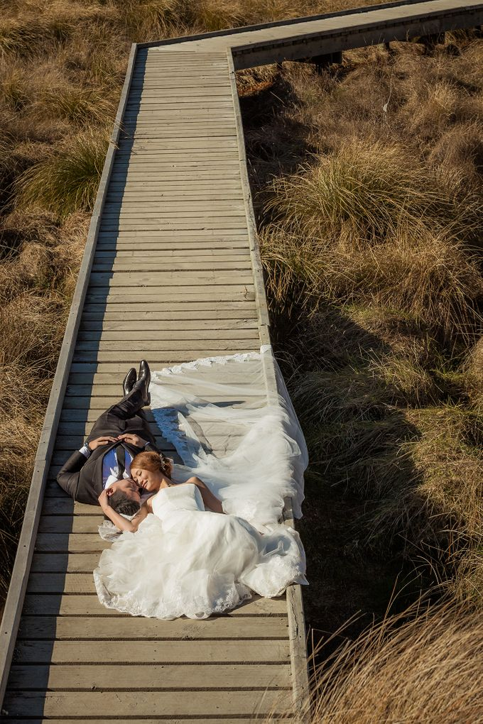 New Zealand pre wedding photography by Odelia Bridal - 006