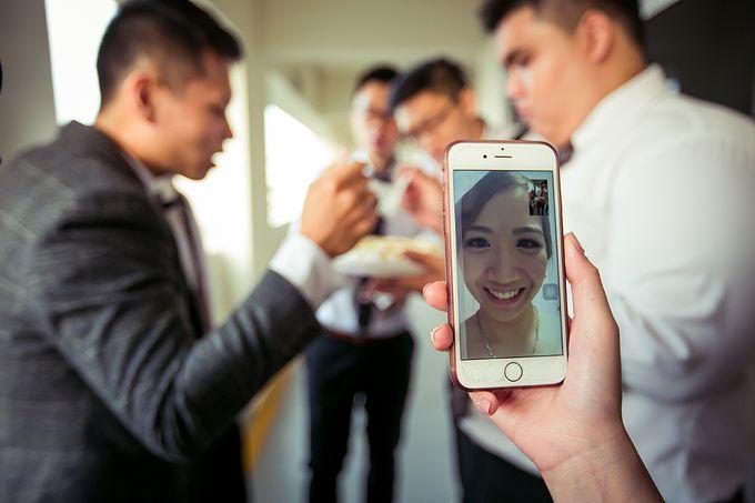 Wedding day of Jackson & Wen Xia by Odelia Bridal - 010