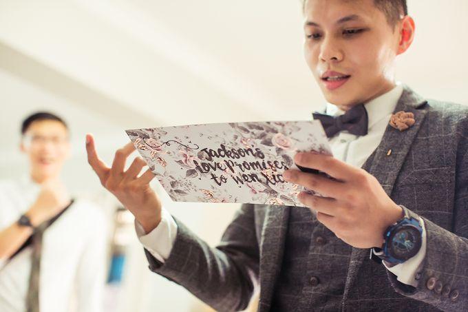 Wedding day of Jackson & Wen Xia by Odelia Bridal - 013